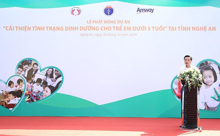 Ông Nguyễn Phương Sơn, Giám đốc Đối ngoại Amway Việt Nam.