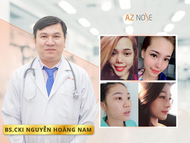 Bác sĩ Nguyễn Hoàng Nam từng thực hiện hàng nghìn ca nâng mũi, sửa mũi hỏng cho khách hàng.