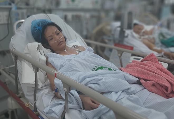 Bệnh nhân qua cơn nguy kịch, đang được theo dõi tại bệnh viện. Ảnh: Bệnh viện cung cấp.