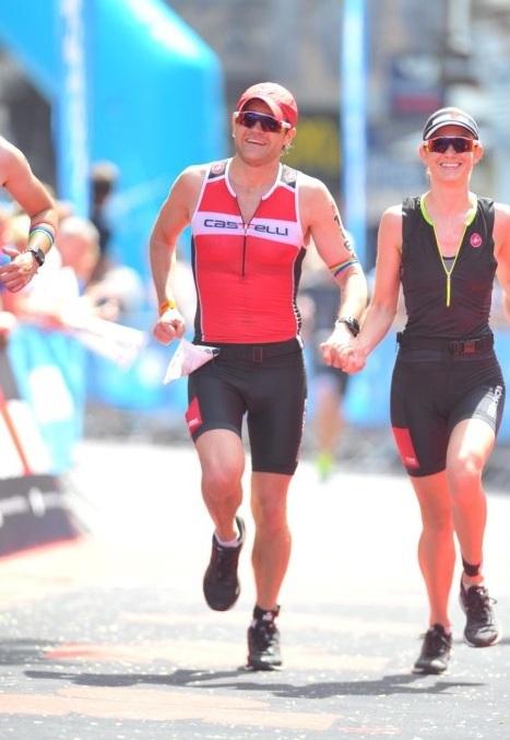 Brad Woodhouse trong giải chạy Ironman. Ảnh: Brad Woodhouse