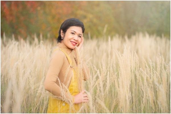 Chị Trương Thanh Ngân hiện sống cùng chồng và ba con trai tại thủ đô nước Áo.