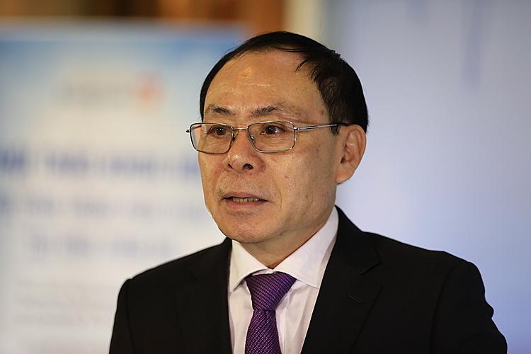 Ông Phan Công Chiến, phó Chánh văn phòng Bộ Y tế tại TP HCM. Ảnh: Hữu Khoa