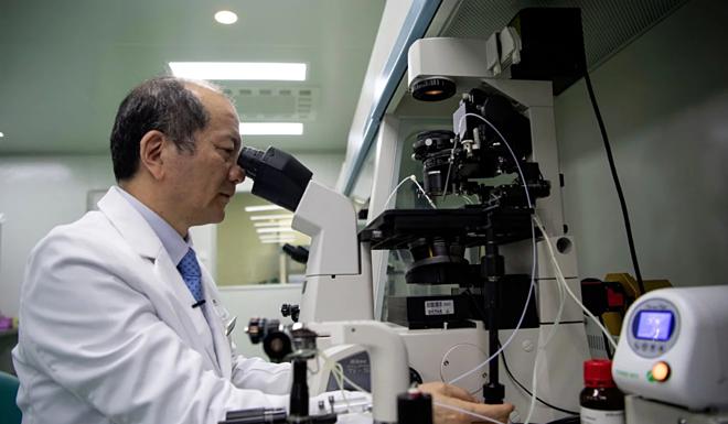 Liu Jiaen,Giám đốc một bệnh viện phụ sản ở Bắc Kinh. Ảnh:AFP