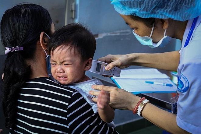 Bệnh nhân điều trị tại Bệnh viện Nhi đồng 1, nơi có điểm chất lượng bệnh viện đứng thứ 3 toàn thành phố. Ảnh: Thành Nguyễn.