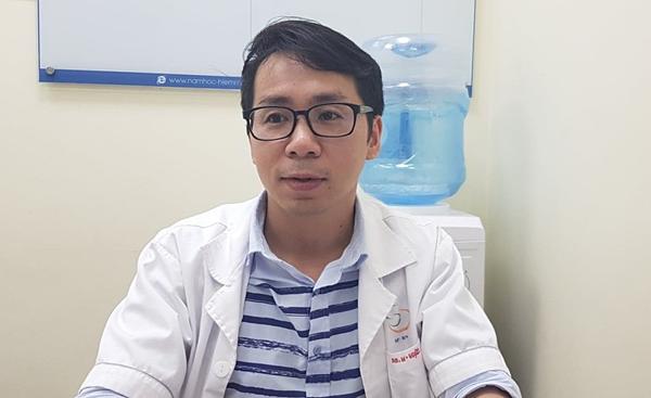 Bác sĩ Đinh Hữu Việt, bệnh viện Nam học và Hiếm muộn Hà Nội. Ảnh: Bác sĩ cung cấp.