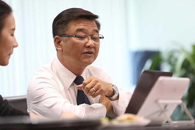 Tiến sĩ Lê Quốc Hùng. Ảnh: Hữu Khoa