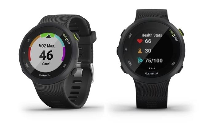 Đồng hồ thông minh Garmin đang giảm đến 27% trên Shop VnExpress. Mẫu Garmin Forerunner 45 có thể theo dõi nhịp tim ở cổ tay và có tính năng GPS để theo dõi tốc độ, khoảng cách, khoảng thời gian của runner. Sản phẩm hỗ trợ chạy bộ, đạp xe, theo dõi trong nhà, máy chạy bộ, hình elip, cardio, yoga... Đồng hồ giảm còn 4,399 triệu đồng (giá gốc 5,998 triệu).