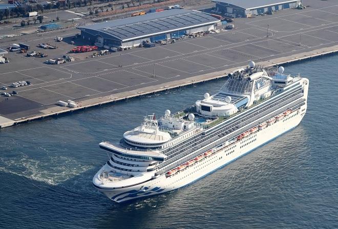 Diamond Princess là du thuyền hạng sang của hãng Princess Cruise. Ảnh: Reuters