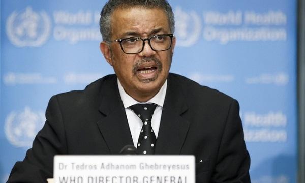 Tổng giám đốc WHO Tedros Adhanom Ghebreyesus. Ảnh: AP.