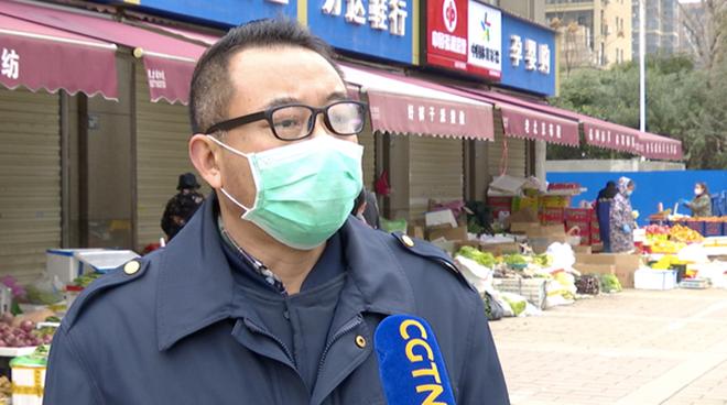 Liu Qiong, người giám sát thị trường. Ảnh: CGTN