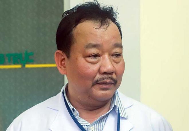 Bác sĩ Lê Thành Phúc, một trong 8 bác sĩđược lãnh đạo Đà Nẵng khen thưởng. Ảnh: Nguyễn Đông.