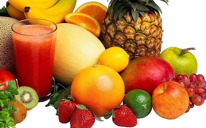 M?t s? lo?i trái cay giàu vitamin C. ?nh: Home Base.