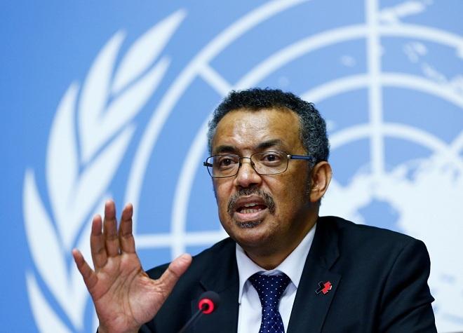 Tổng giám đốc Tổ chức Y tế Thế giớiTedros Adhanom Ghebreyesus. Ảnh: WHO