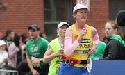 Người phụ nữ ung thư chạy bộ để tránh trầm cảm
