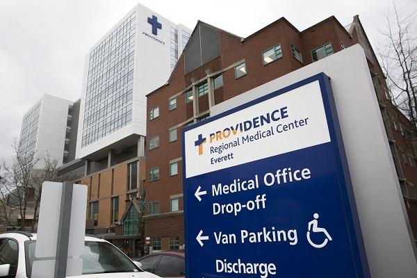 Trung tâm y tế khu vực Providence ở Everett, Washington, nơi nam bệnh nhânnhiễm nCoVđã được điều trị. Ảnh: AFP