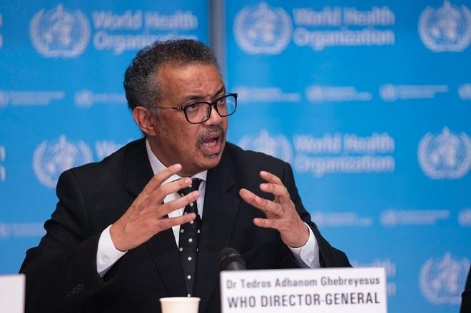 Tổng giám đốc WHOTedros Adhanom Ghebreyesus. Ảnh: Reuters