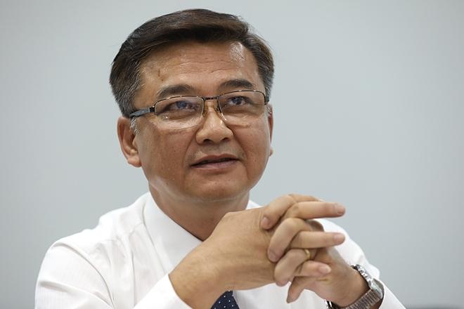 Bác sĩ Lê Quốc Hùng, Trưởng Khoa Bệnh Nhiệt đới, Bệnh viện Chợ Rẫy. Ảnh: Hữu Khoa.