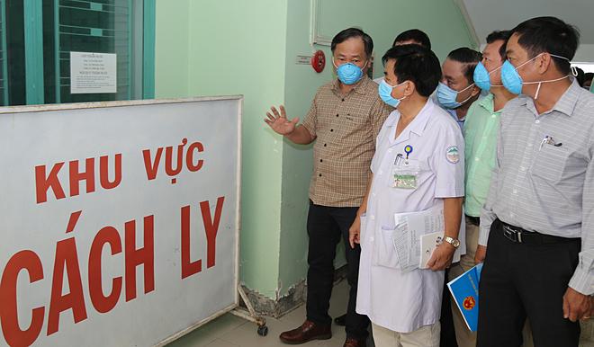 Khu cách ly người nhiễm dịch nCoV tại Bệnh viện Nhiệt đới Khánh Hòa. Ảnh: Xuân Ngọc.