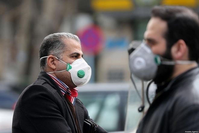 Người dân Tehran, Iran đeo khẩu trang ngừa viêm phổi nCoV vào ngày 21/1. Ảnh:Anadolu Agency