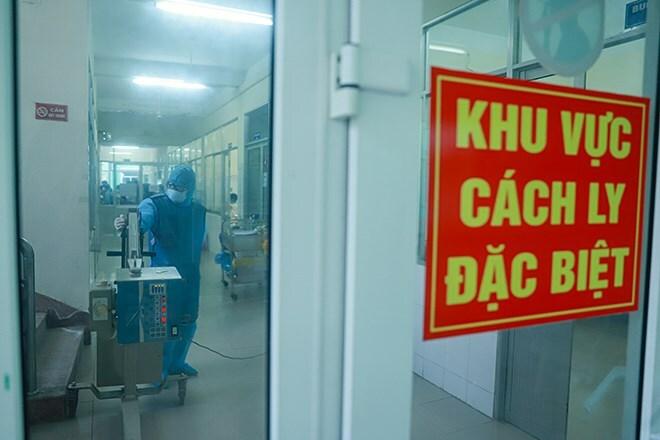 Bệnh viện Phổi Đà Nẵng, nơi điều trị cách ly bệnh nhân Covid-19, tháng 2.Ảnh: Nguyễn Đông.
