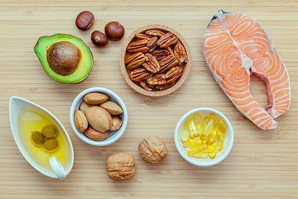 Chất béo không bão hòa đơn/đa, axit béo omega-3 có thểgiảm nguy cơmắc ung thư. Ảnh: Selfhacked