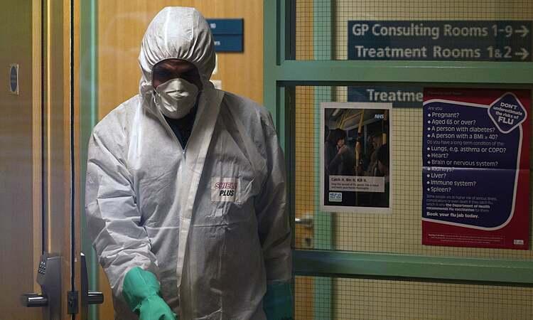 Trung tâm y tế County Oak, Brightontạm thời đóng cửa vào tháng trước sau khi nhân viên bị nhiễm Covid-19. Ảnh: EPA