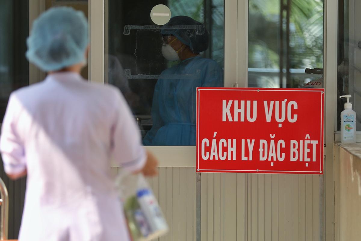 Khu cách ly điều trị bệnh nhân nCoV tại Bệnh viện Bệnh Nhiệt đới TP HCM. Ảnh: Hữu Khoa.