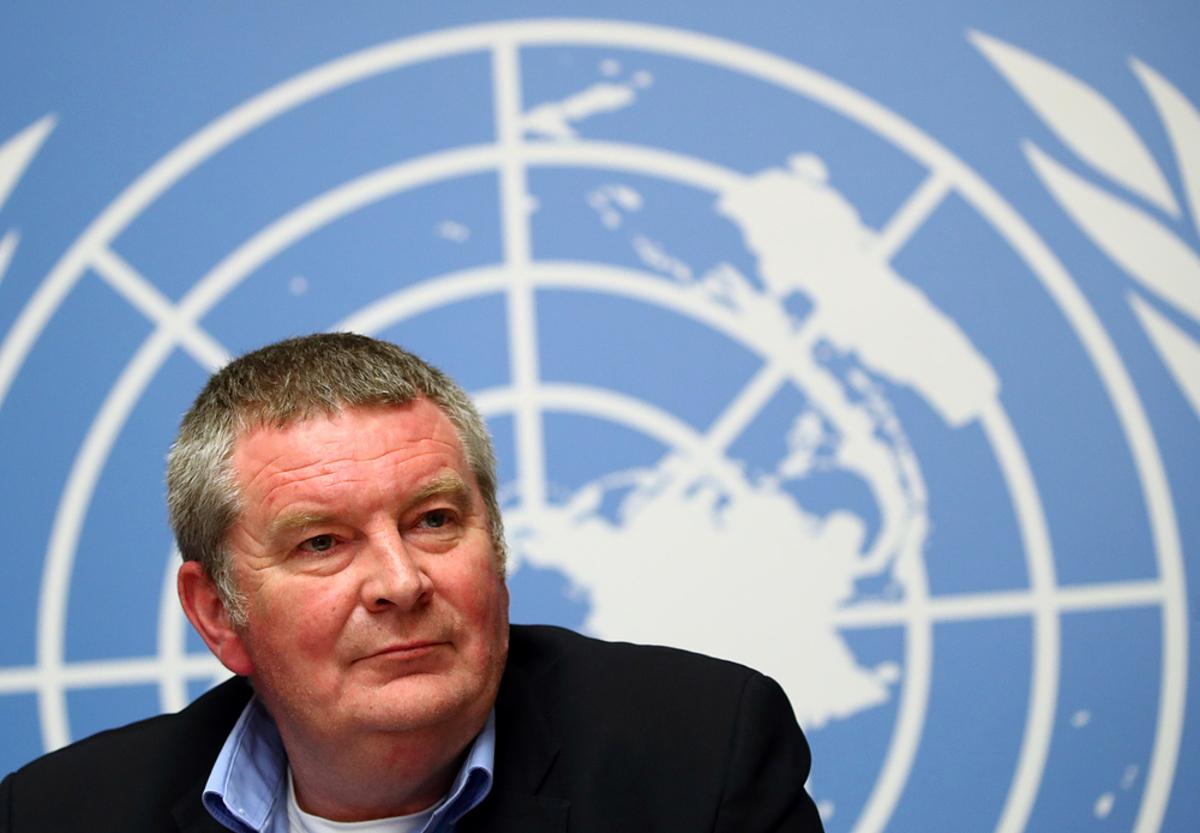 Mike Ryan, giám đốc điều hành chương trình khẩn cấp về y tế công cộng của WHO. Ảnh: Reuters