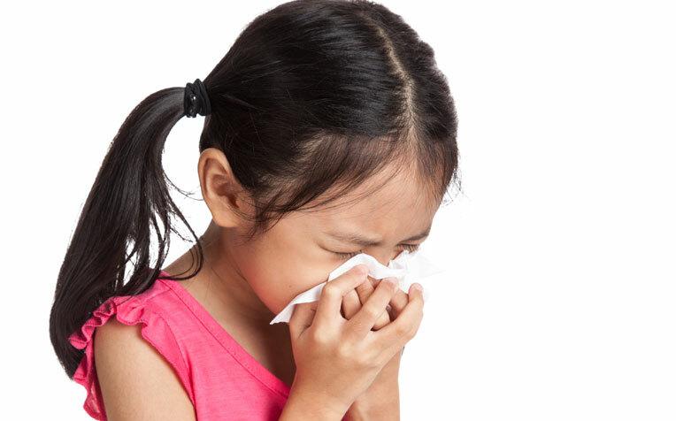 Nhiễm khuẩn đường hô hấp là bệnh rất phổ biến ở trẻ em. Ảnh:healthxchange