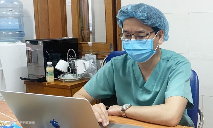 Bác sĩ Nguyễn Quốc Thái, trưởng khoa C4, Viện Tim Mạch, bệnh viện Bạch Mai. Ảnh: Bệnh viên cung cấp