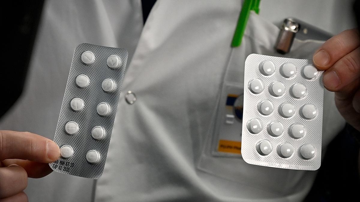 Thuốc sốt rétChloroquine được thử nghiệm để điều trị Covid-19. Ảnh: AFP