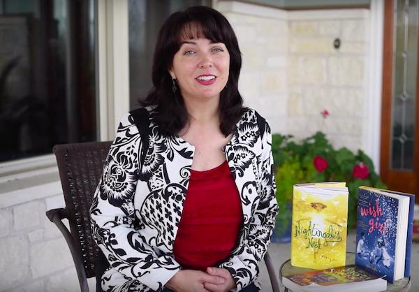 Nhà văn Nikki Loftin giới thiệu tiểu thuyết Wish girl trên kênh Youtube.