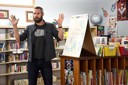 Dan Gemeinhart ngoài việc viết sách còn là một thầy giáo vì vậy chọn kể những câu chuyện về trẻ em.