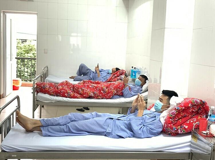 Bệnh nhân nghi nhiễm nCoV được cách ly tại Bệnh viện số 2 Quảng Ninh. Ảnh: Thế Thiêm