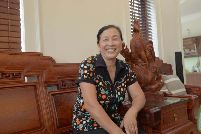 Bà Nguyễn Thị Hạnh phát hiện u tuyến giáp năm 2016.