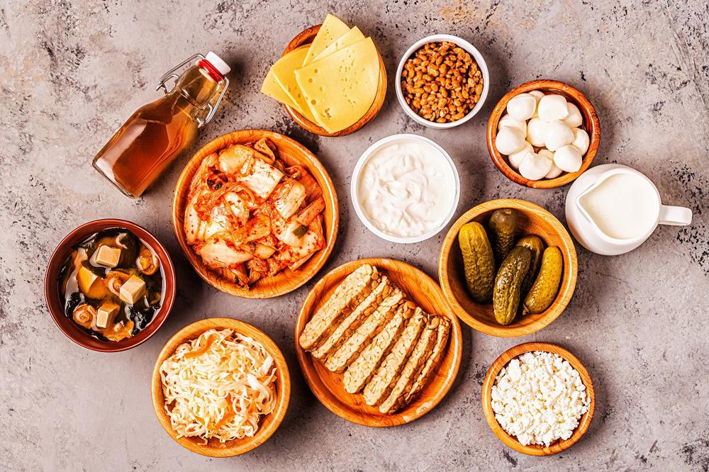 Thực phẩm lành mạnh giúp duy trì hệ miễn dịch khỏe mạnh.