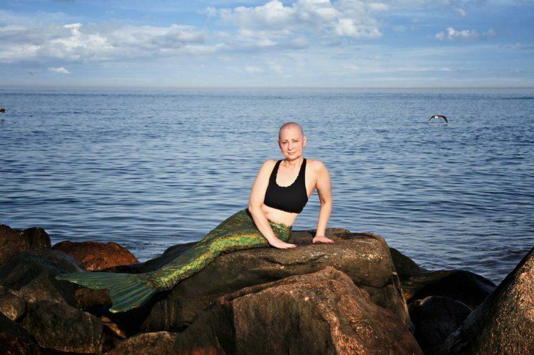 Bộ ảnh nàng tiên cá Susan Rosen do nhiếp ảnh gia Kelly Burke thực hiện.