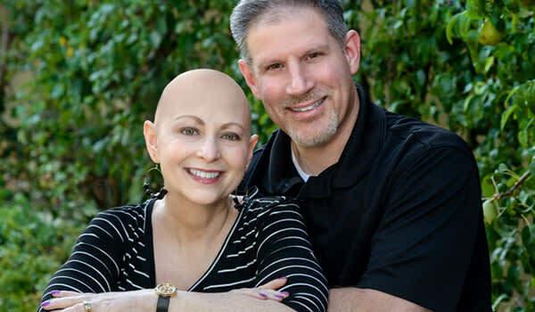Susan Rosen luôn có chồng và hai con ở bên trong quá trình đối mặt với ung thư.
