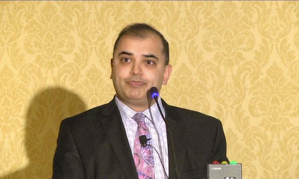 Sapan Desai, giám đốc công ty phân tích dữ liệuSurgisphere. Ảnh:Gore Medical