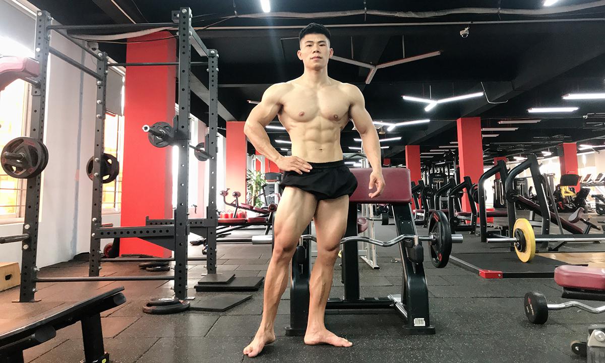 Hiện tại, Thạch cao 1,7m nặng 72kg, có tham gia thi đấu để rèn luyện khả năng của bản thân mình. Ảnh: Nhân vật cung cấp