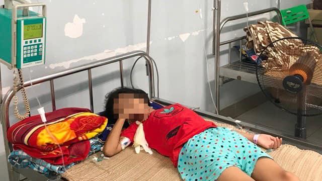 Bệnh nhi tiếp tục được điều trị tại Bệnh viện Nhi Trung ương. Ảnh: Bệnh viện cung cấp.