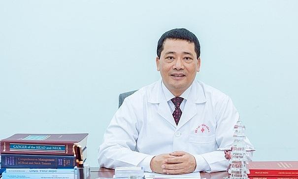 Phó giáo sư Lê Văn Quảng, Giám đốc Bệnh viện K. Ảnh: Hà Trần