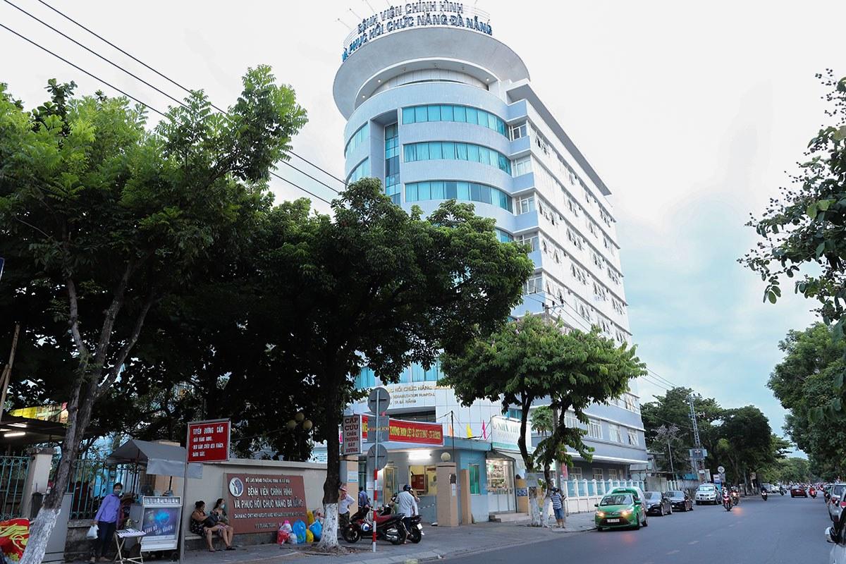 Bệnh viện Phục hồi chức năng Đà Nẵng, nơi ca nghi nhiễm mới đến điều trị. Ảnh: Nguyễn Đông.