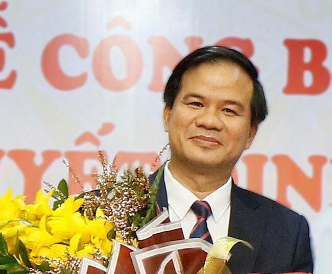 Bác sĩ Đào Xuân Cơ, tân phó giám đốc của Bệnh viện Bạch Mai. Ảnh:Thành Dương.