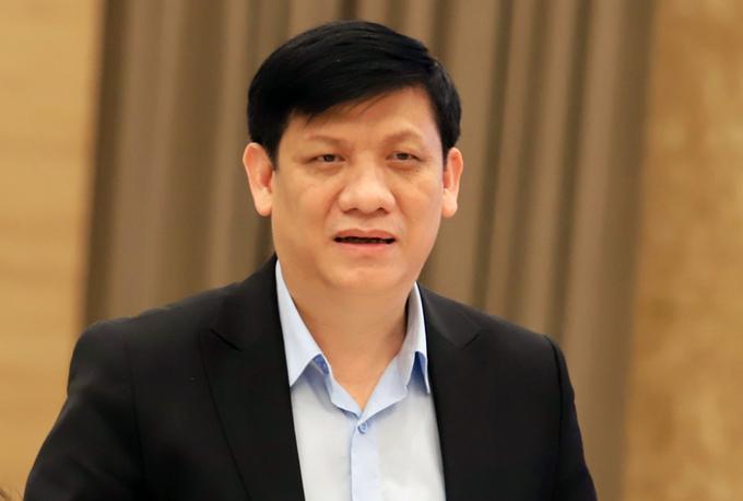 Quyền Bộ trưởng Y tế Nguyễn Thanh Long. Ảnh: Viết Tuân.