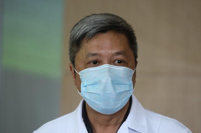 hứ trưởng Y tế Nguyễn Trường Sơn. Ảnh:Ngọc Thành.