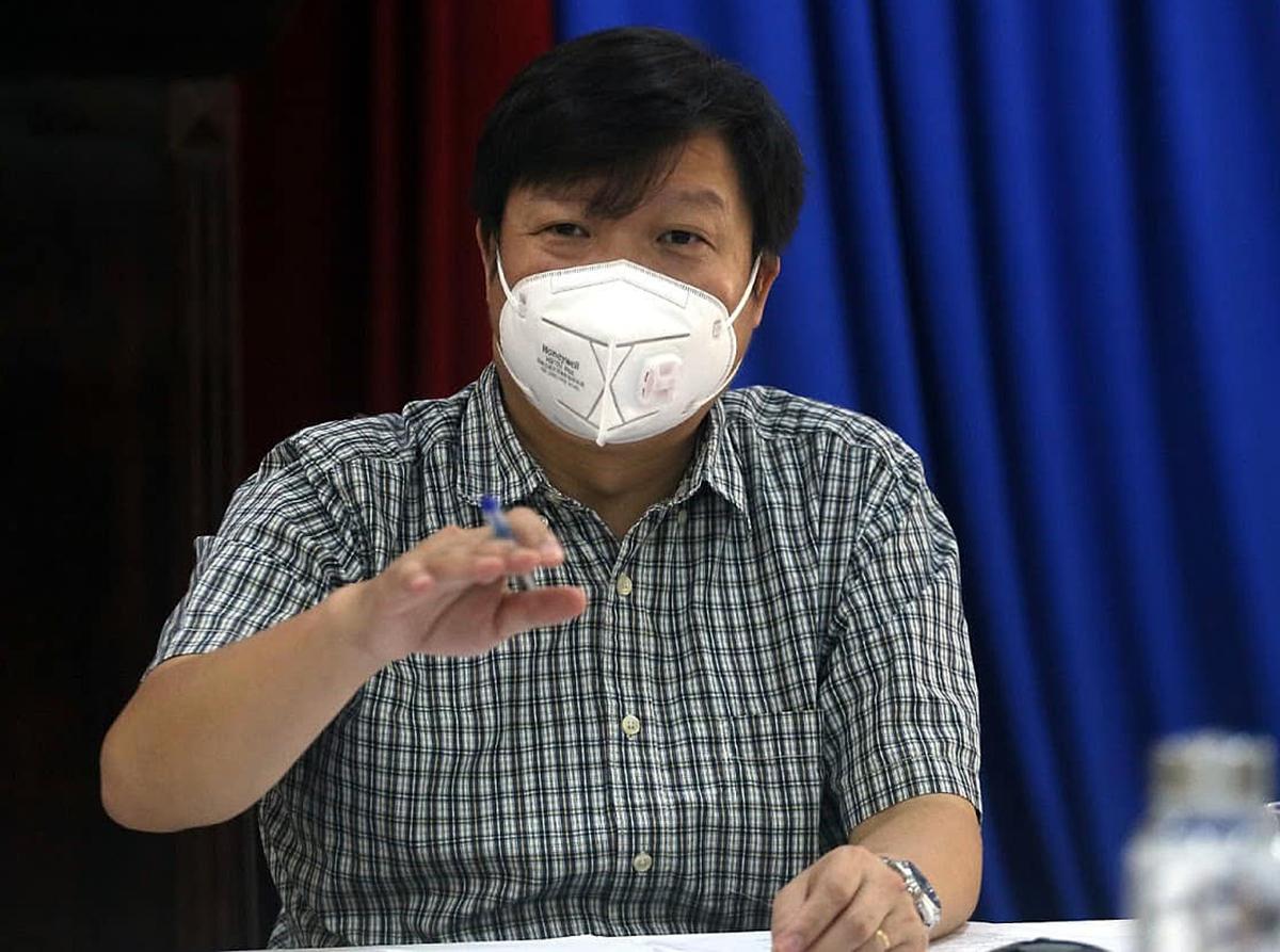 Ông Trần Như Dương, Đội trưởng Đội điều tra giám sát dịch tại Đà Nẵng. Ảnh: Lê Bảo.