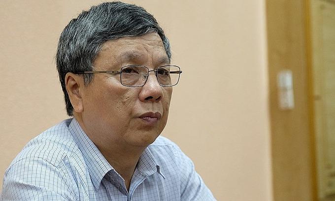 Giáo sư Nguyễn Gia Bình. Ảnh:Trần Minh.