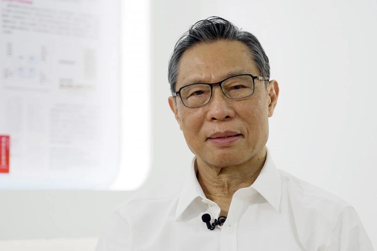 Viện sĩ Chung Nam Sơn, người có công lớn đối với Trung Quốc trong cuộc chiến chống Covid-19. Ảnh: SCMP