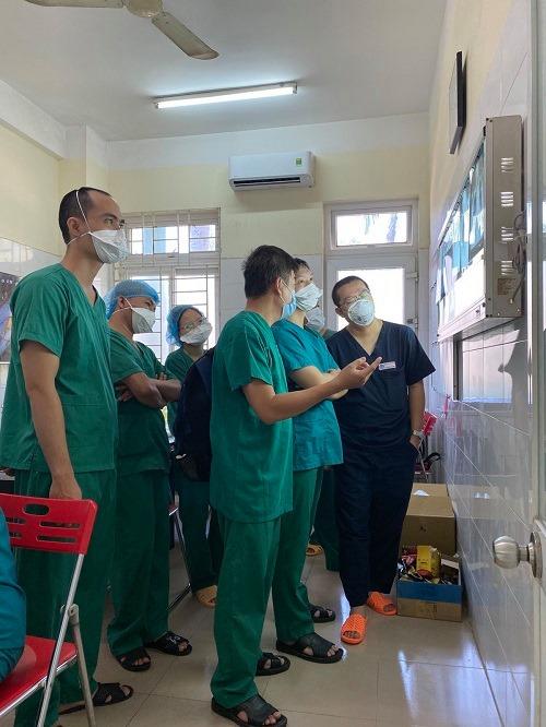 15 ngày ăn ngủ cùng bệnh nhân Covid-19 Đà Nẵng của bác sĩ Chợ Rẫy - 2